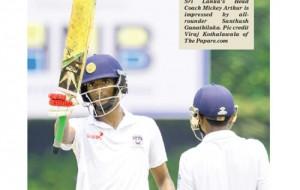 Arthur impressed by all-round skills of Santhush Gunathilaka-by Rex Clementine